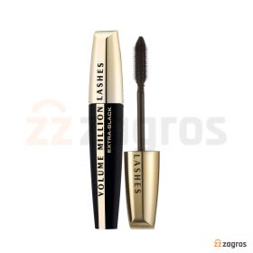 ریمل لورآل مدل VOLUME MILLION LASHES EXTRA-BLACK